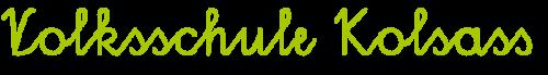 Logo der Volksschule Kolsass